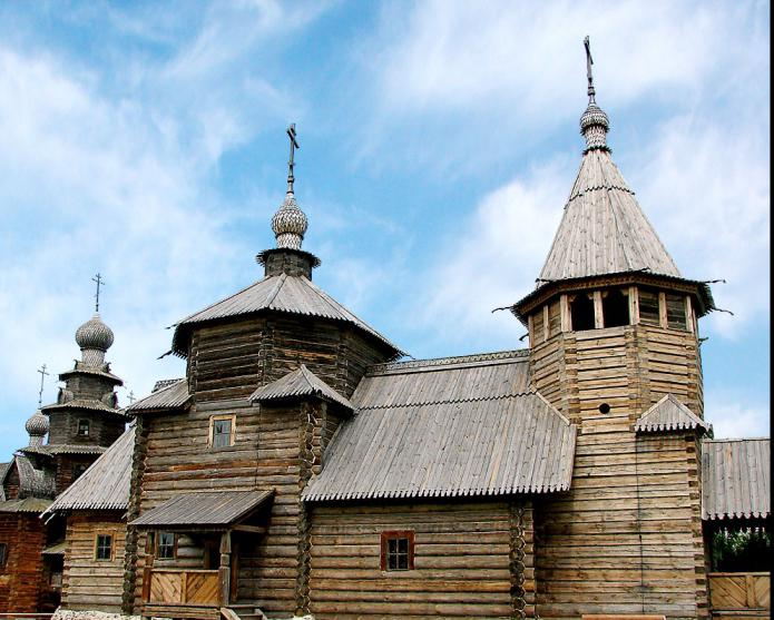 музей деревянного зодчества спас клепики