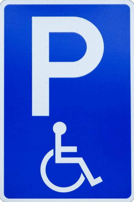 какой штраф за стоянку под знаком инвалида