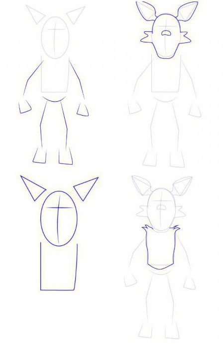 How to draw FNAF? Today our hero - the Fox is foxy