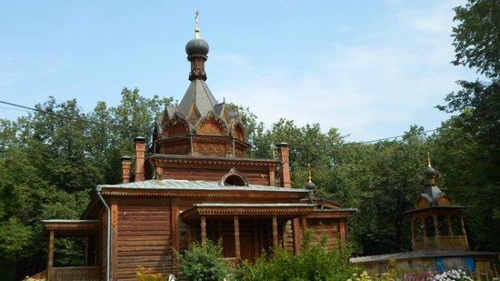 View of the church in Sokolniki