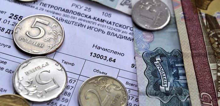 Platba za hlavné opravy v regióne Moskva