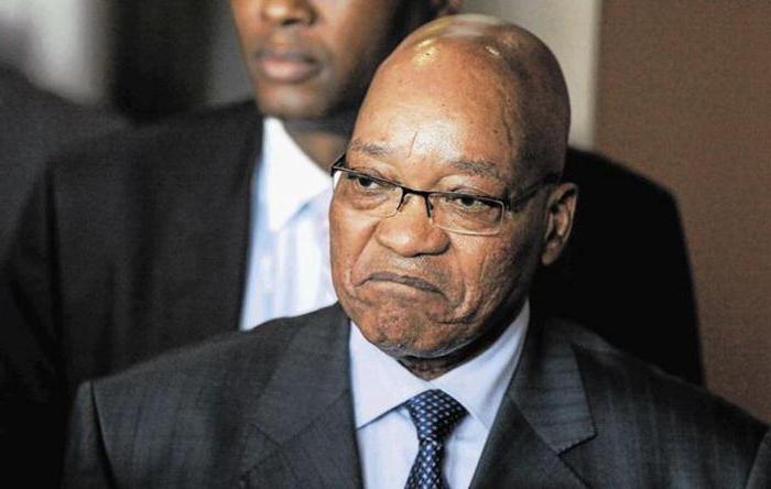 президент южно африканской республики