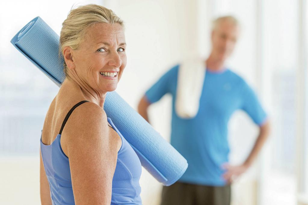 Упражнения для похудения в климаксе
