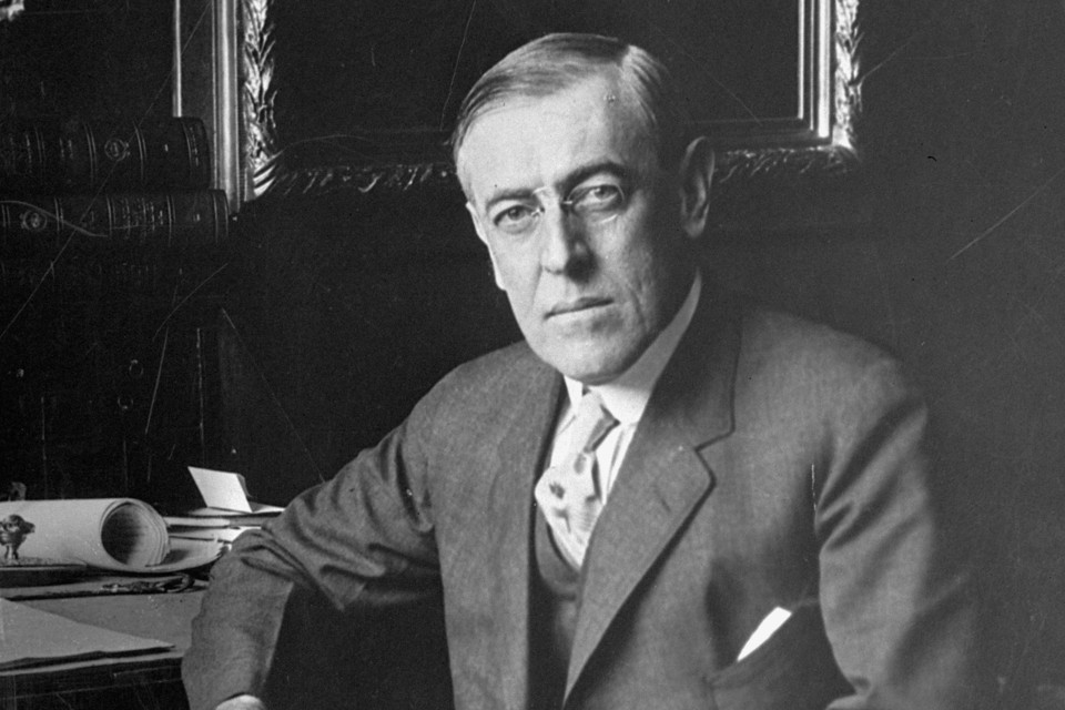 an analysis of woodrow wilsons as a great democratic leader during his term Information and articles about woodrow wilson  in his first term he pushed through a and discredited leader yet his star rose again during.