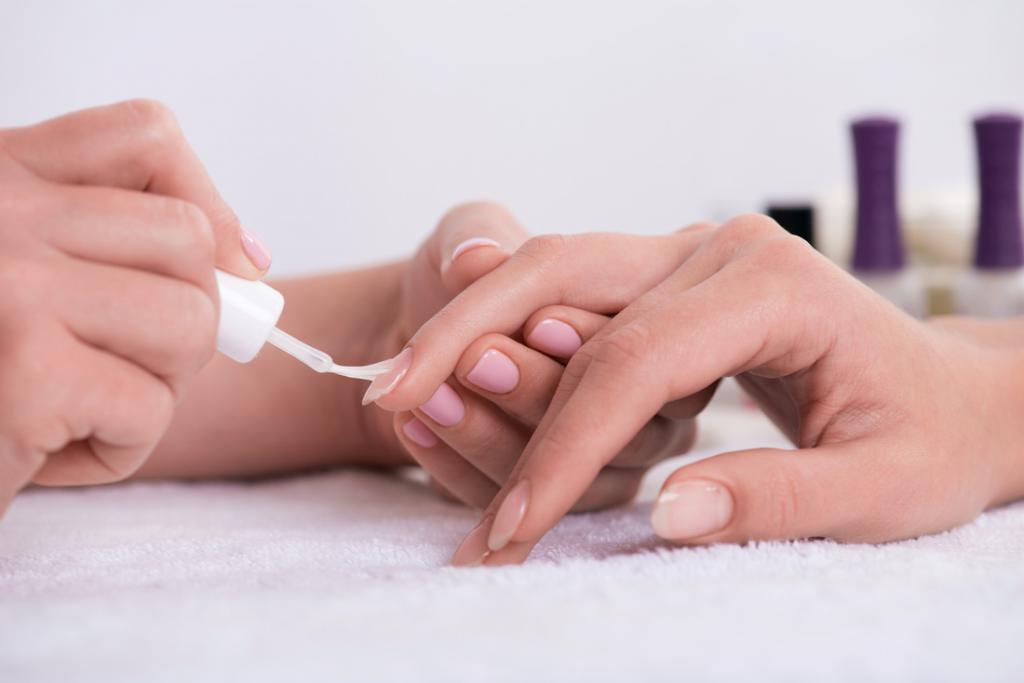 how to properly process toenails