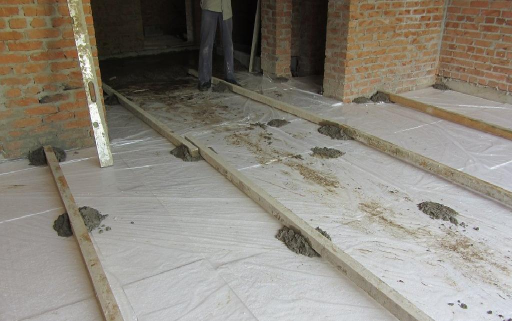 The Floor Screed Is Technology Of Work Types Installation