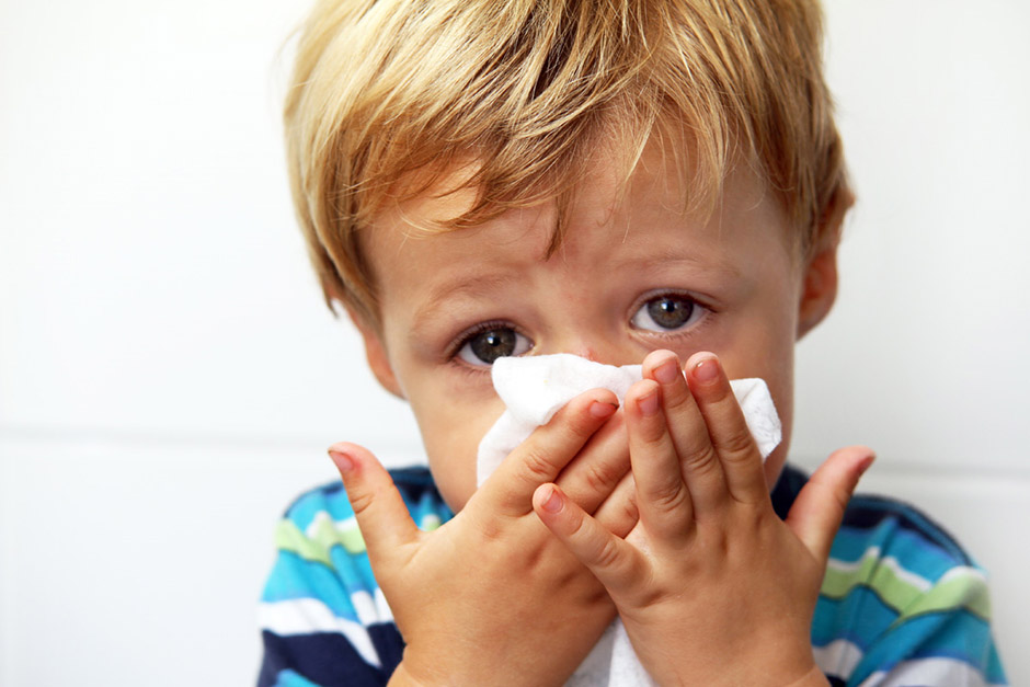 the child began to hear worse after otitis media