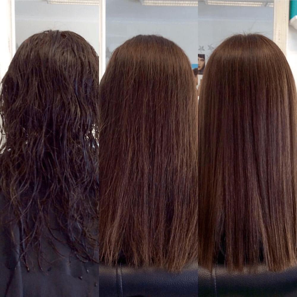 лучшие средства для выпрямления волос без утюжка