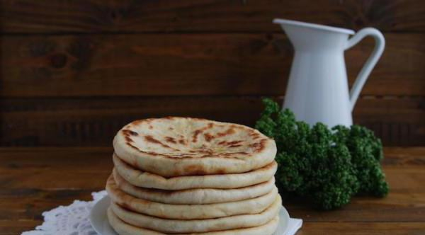 Балкарские хычины с сыром и зеленью: рецепт изготовления