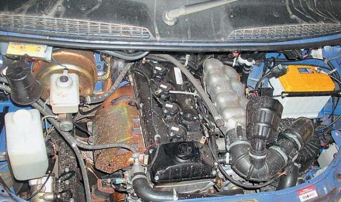 двигатель газ 4216