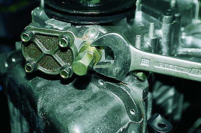 Ремонт редукционного клапана масляного насоса