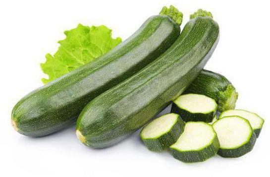 диетические блюда для похудения из кабачков