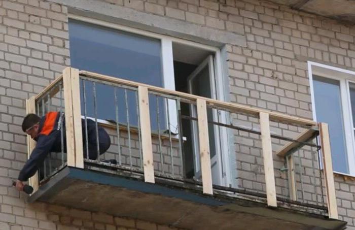 Монтаж сайдинга балкона своими руками