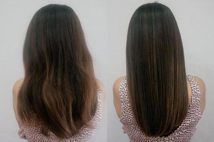 Кератиновое лечение волос, отзывы