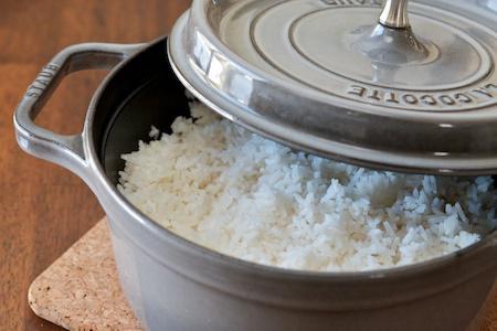 как варить пропаренный рис рассыпчатым