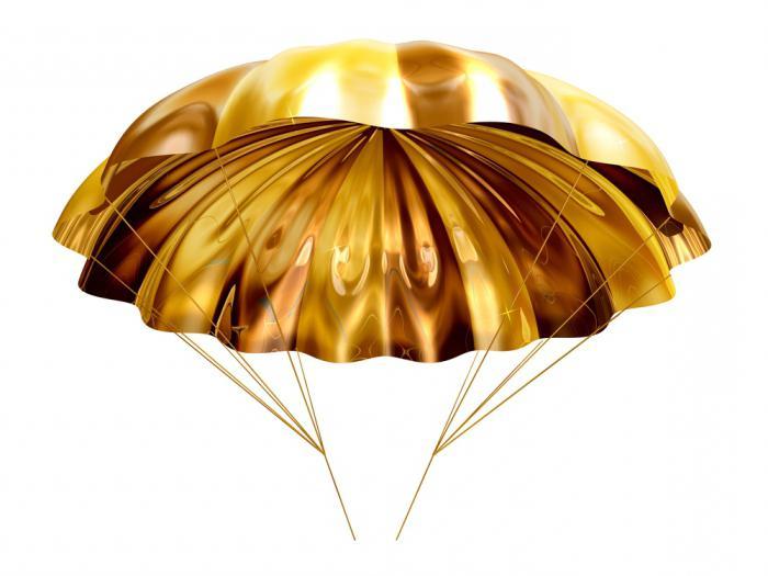размер золотого парашюта