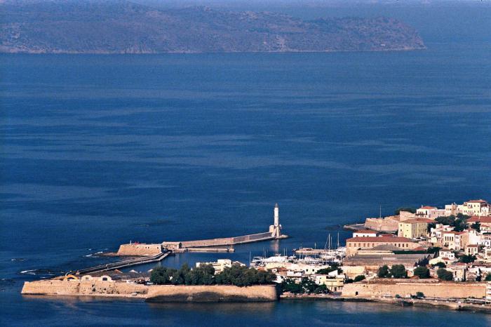 крупнейшие острова греции