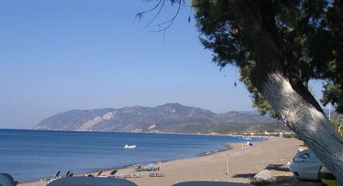 самый крупный остров греции