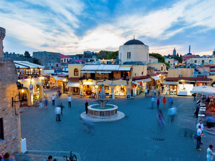 какие острова в греции