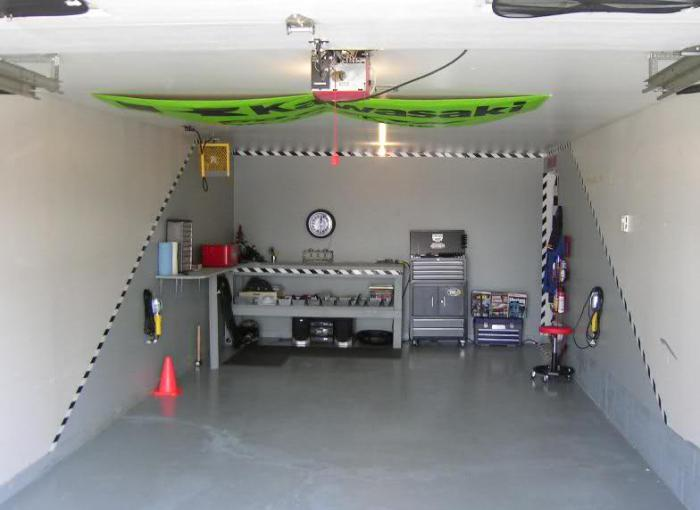 Стандартная ширина гаража на 1 машину