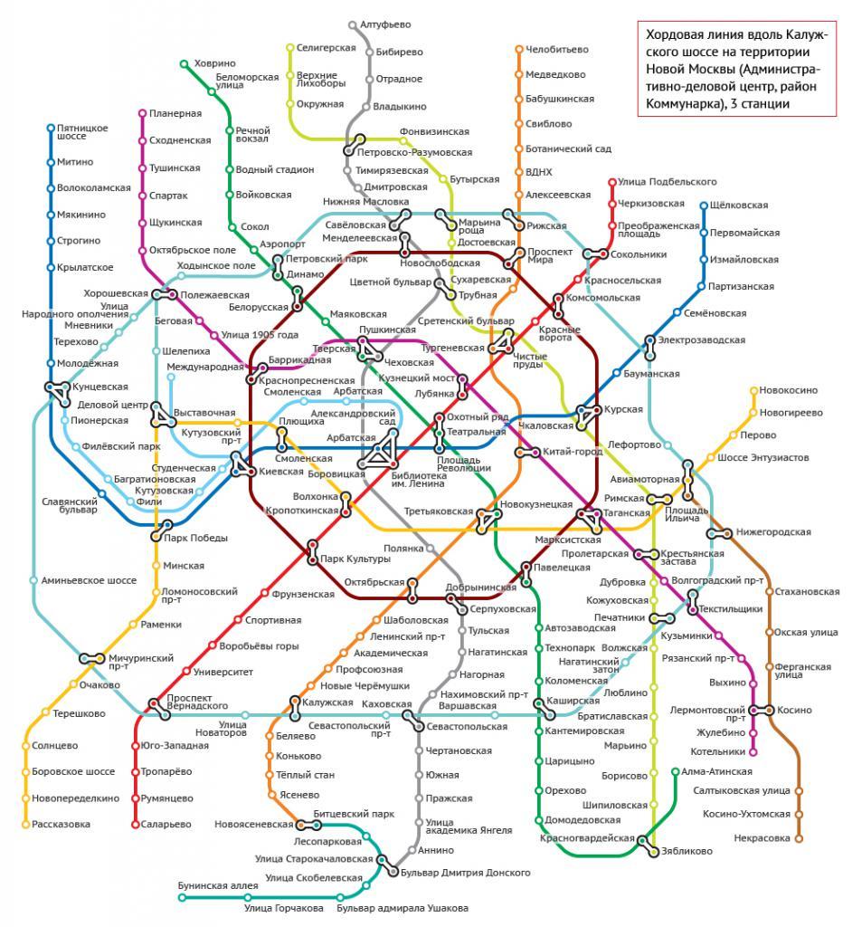 строящиеся станции метро 2030