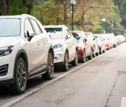 как правильно парковаться задним ходом схема