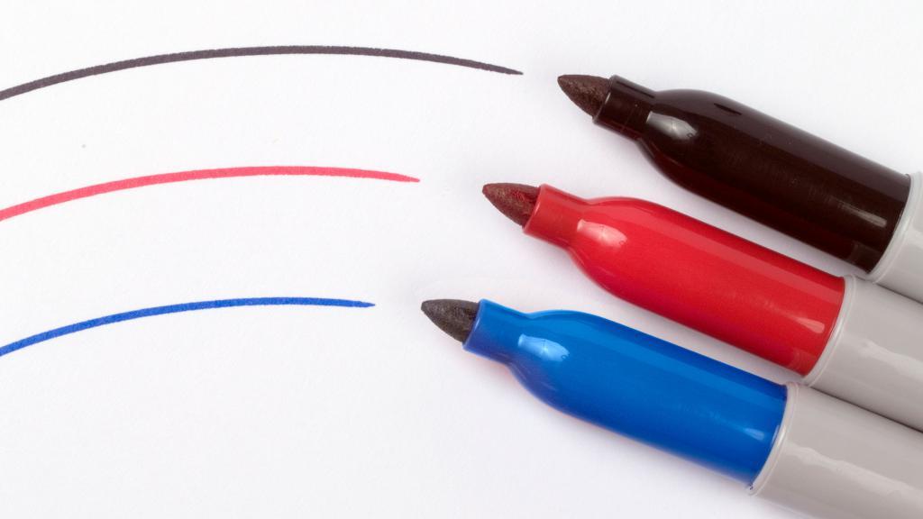 Чем заправить маркер перманентный