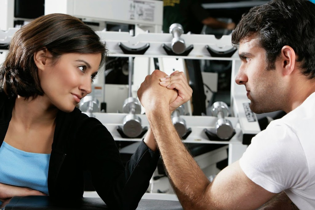 Соревнование мужа и жены