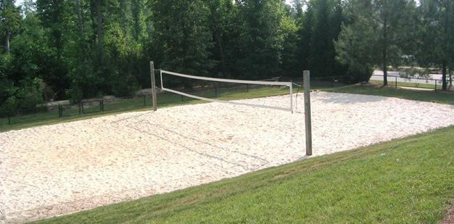 размеры волейбольной площадки на улице