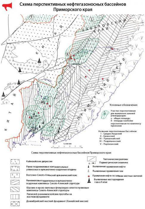 добыча полезных ископаемых в приморском крае
