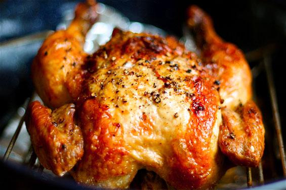 Курица запеченная в духовке целиком калорийность