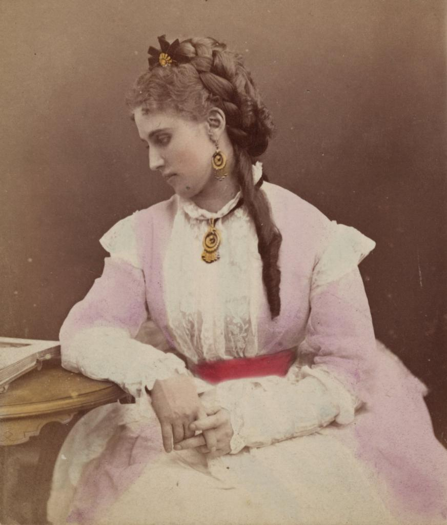 Opera singer Christina Nilson