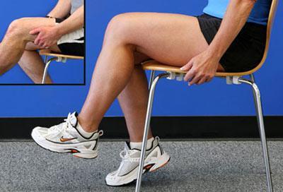 как разработать колено после перелома