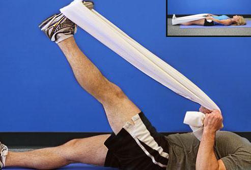 как разработать колено после гипса