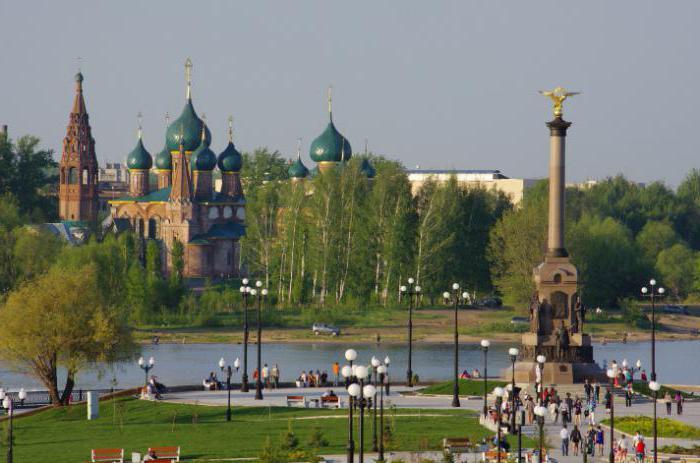 река Волга и Которосль