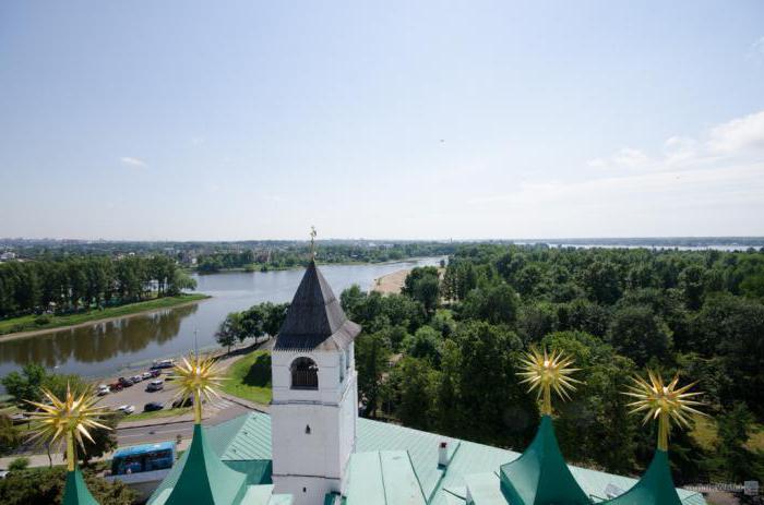 Ярославль река Которосль и Волга