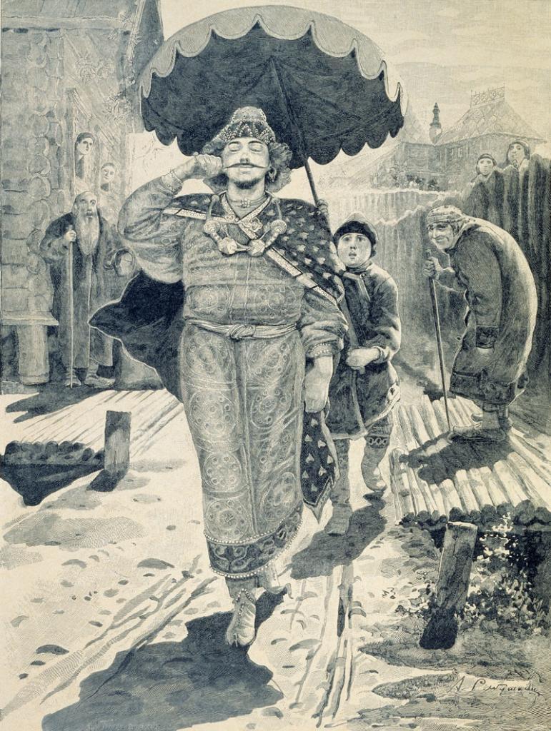 Былинный герой Чурила Пленкович