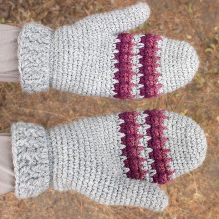 white mittens