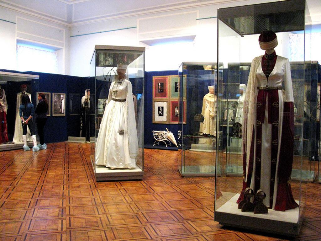 dresses in the art center