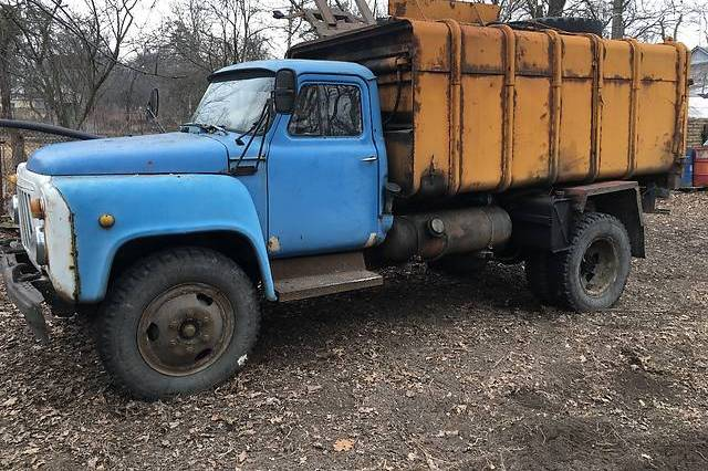 Мусоровоз на базе автомобиля ЗИЛ-130