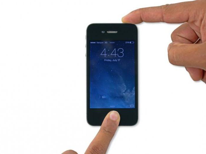 ошибка 29 при обновлении iphone 4s