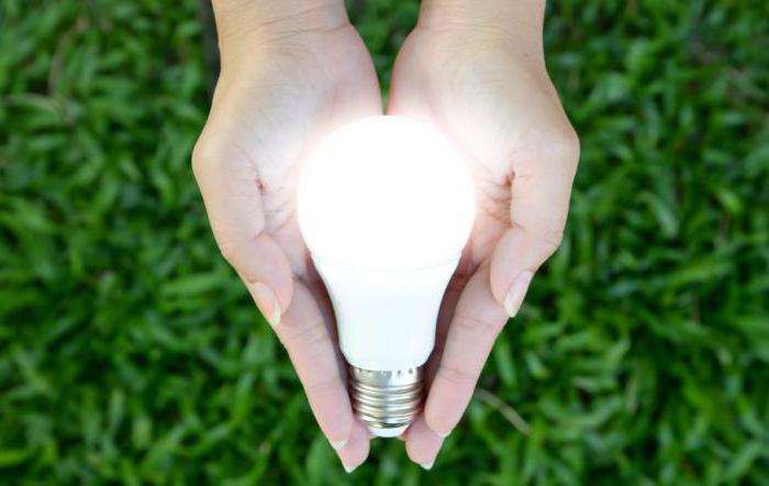 светодиодная лампа моргает после выключения