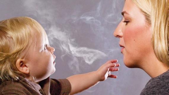 Через сколько можно кормить после курения