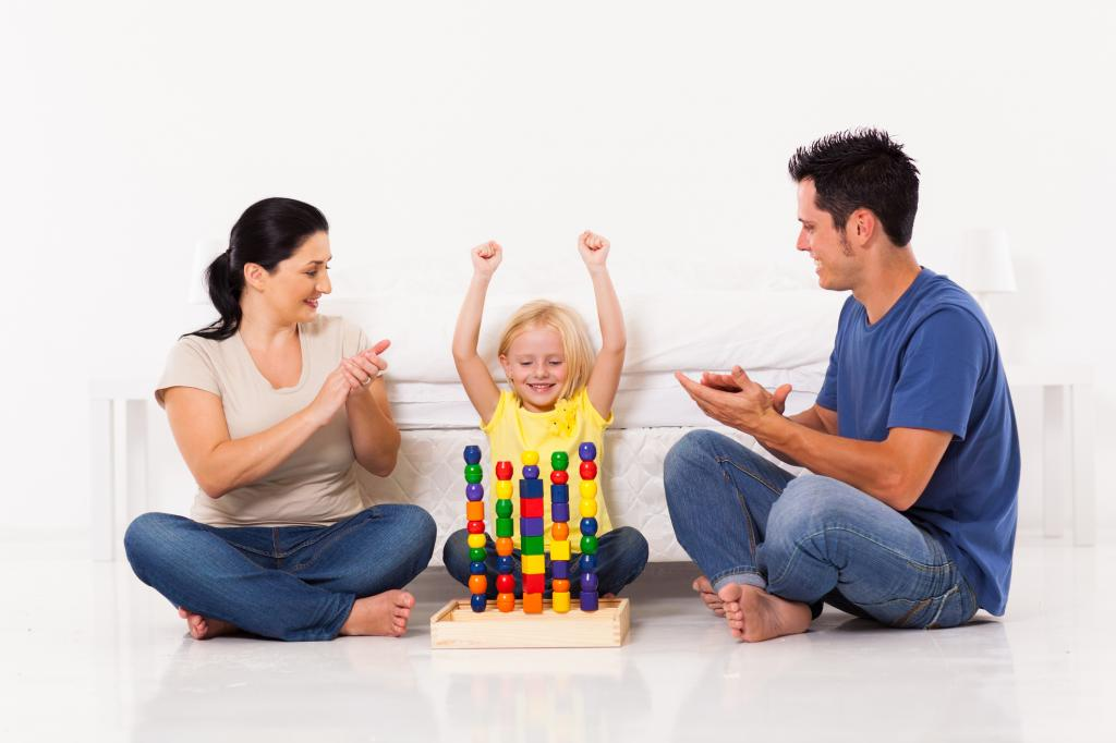Praise the child