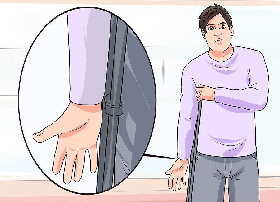 Crutch check