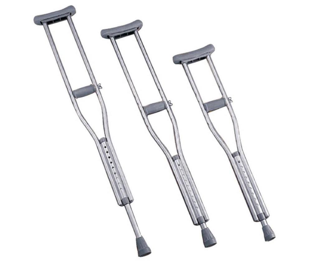 Adjustable crutch