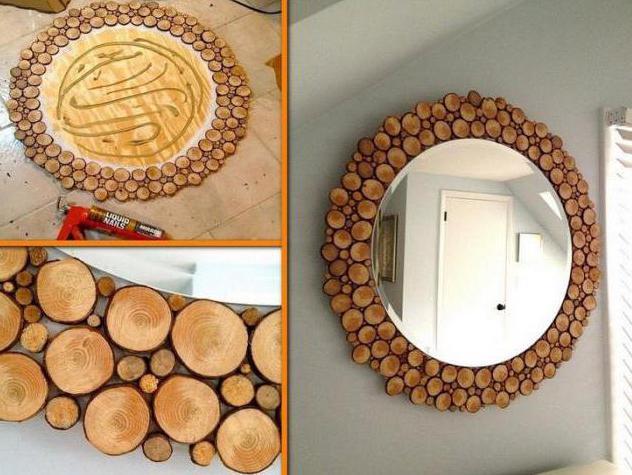 идеи применения спилов дерева