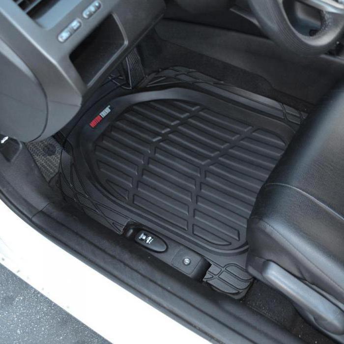 резиновые коврики в машину
