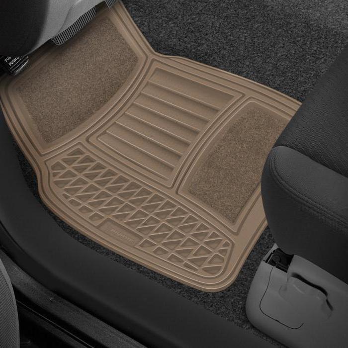 какие резиновые коврики в машину лучше