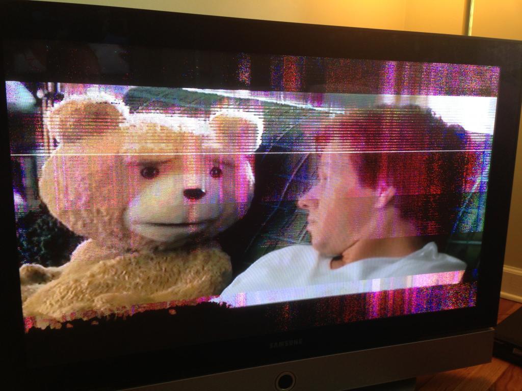 плохая картинка жк телевизоре